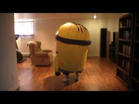 Inflatable costume  minion