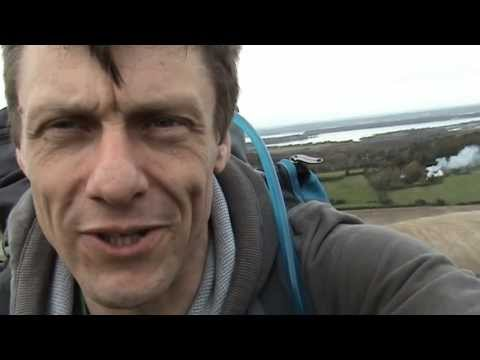 UK Coastal Trek - Training Old Harry Rocks