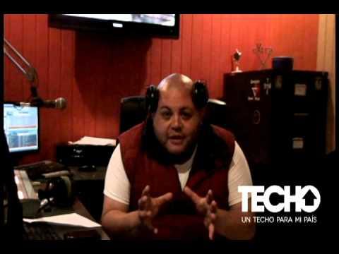 DJ Bimbo acepto el reto y se sumo a la #colectaTECHO este 2 y 3 de Agosto