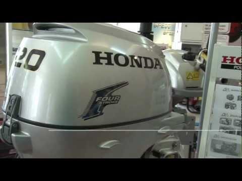 Подвесной лодочный мотор honda bf20d3 shu снимок