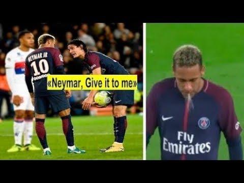 ►Teammate Fights Over Penalty • Neymar, Ronaldo, Cavani