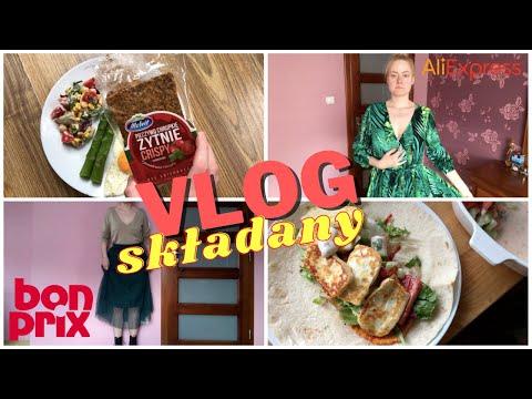 VLOG: haul Bonprix, dylemat z sukienką, dużo jedzonka ala FOODBOOK видео