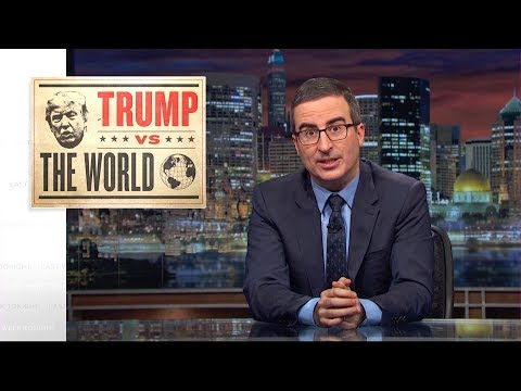 Trump vs. The World: Last Week Tonight with John Oliver (HBO) (видео)