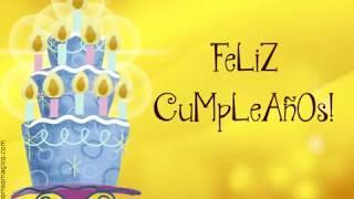 Tarjeta Animada De Feliz Cumpleaños