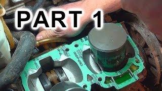 1. Top End Rebuild Again: PART 1 of 2, 2002 MXZ 700