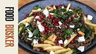 Middle Eastern Poutine for Canada Day | Food Busker by Food Busker