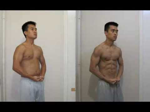 P90X Final Results Transformation (before and after)