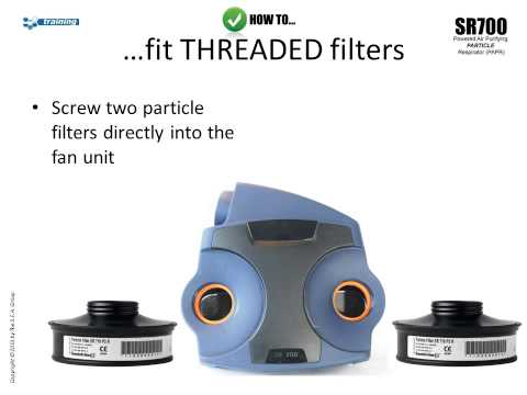 Sundstrom SR700 Particle Powered Air-Purifying Respirator (PAPR)