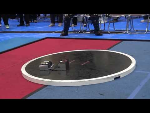 Japanese Robot Sumo moves incredibly fast