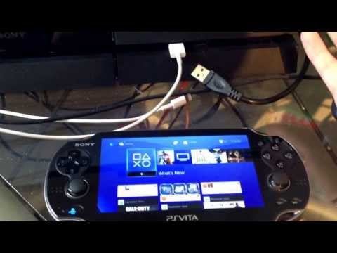 how to login on ps vita