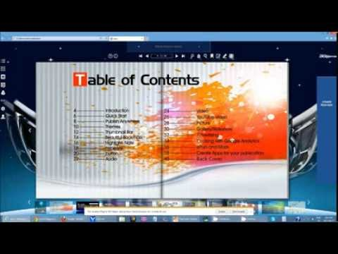 Convert PDF to Page Flip eBooks