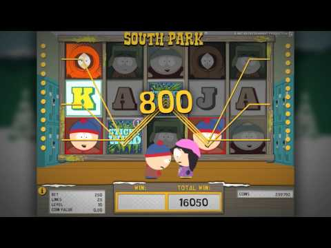 South Park™ - Bonus Game Features - Net Entertainment