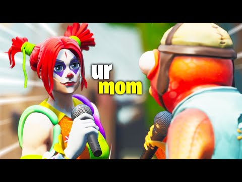 7 year olds ROAST each other in Fortnite and it's HILARIOUS 😂