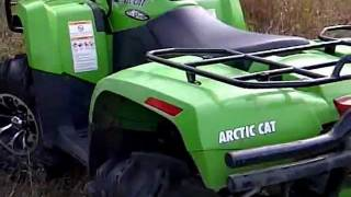 6. arctic cat 650 h1 with mods