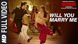Nonton Will You Marry Me Full Video Song   Bhoomi  Aditi Rao Hydari  Sidhant   Sachin   Jigar  Divya Jonita Film Subtitle Indonesia Streaming Movie Download