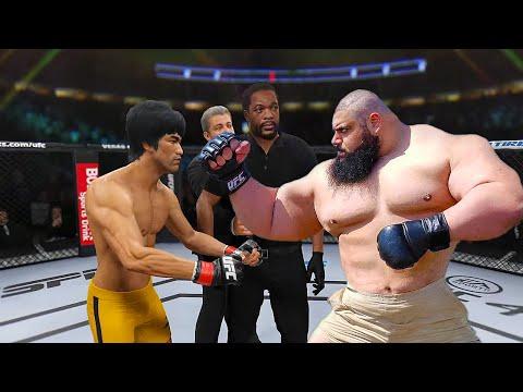 UFC4   Iranian Hulk (Sajjad Gharibi) vs. Bruce Lee (EA sports UFC 4) - rematch