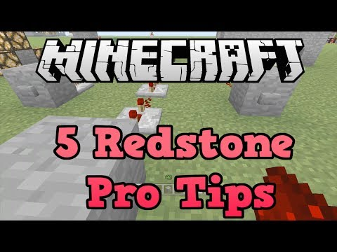 Minecraft Xbox 360 + PS3 + PSVita: 5 Redstone Pro Tips