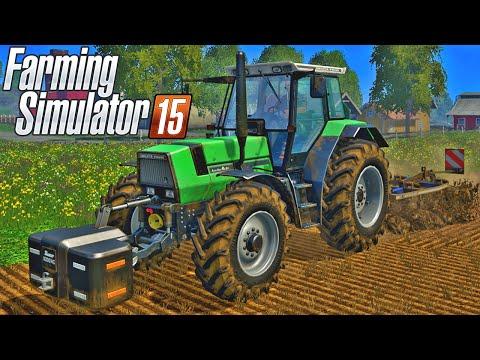 геймплей Farming Simulator 15