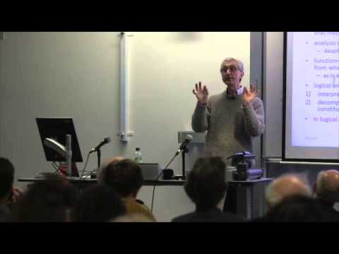 Michael Beaney - The Analytic Revolution (23/01/2015)