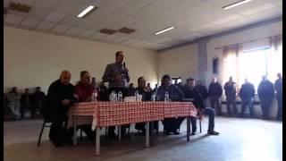 Ο Γ. Αδαμίδης ενημερώνει τους εργαζόμενους του Ορυχείου Νοτίου Πεδίου