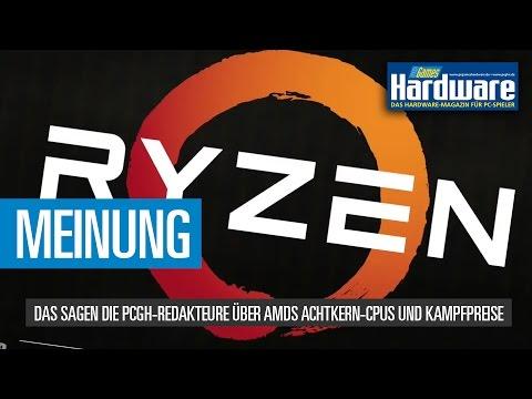 Ryzen-Hype: PCGH über AMDs Achtkern-CPUs und Preise