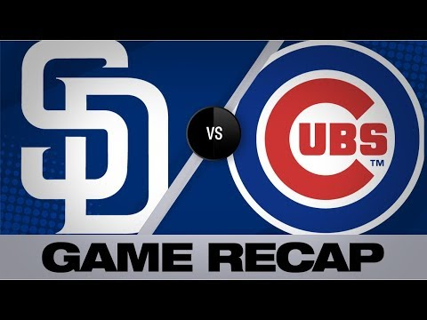 Video: Rizzo, Baez lift Cubs past Padres | Padres-Cubs Game Highlights 7/20/19