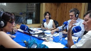 Tertulia con Anna Grau, Pablo Sebastián y Pepe Oneto - 03/07/2014