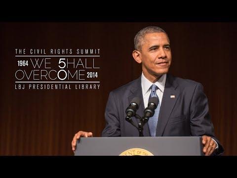 Civil Rights Summit at LBJ Library: President Barack Obama's Keynote