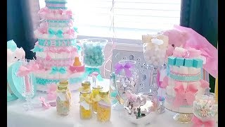 DIY | BABY SHOWER DECOR | MOSTLY DOLLAR TREE