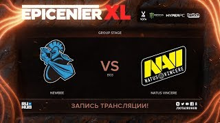 NewBee vs Natus Vincere, EPICENTER XL, game 1 [v1lat, godhunt]