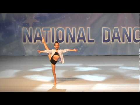 Jennilee Soares-Paez Lyrical Miss Invisible KAR Nationals age 9 (видео)