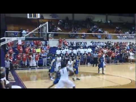 Texan Basketball Highlights - vs Angelo State, Feb. 6, 2013