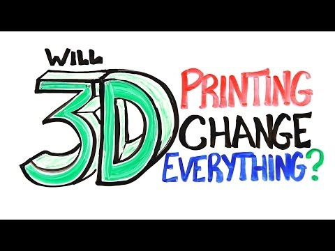 youtube - How will 3D printing change our world? Get a 3D Printed Holiday Gift! http://bit.ly/1c5625s SUBSCRIBE! It's Free: http://bit.ly/10kWnZ7 Special thanks to GE ...