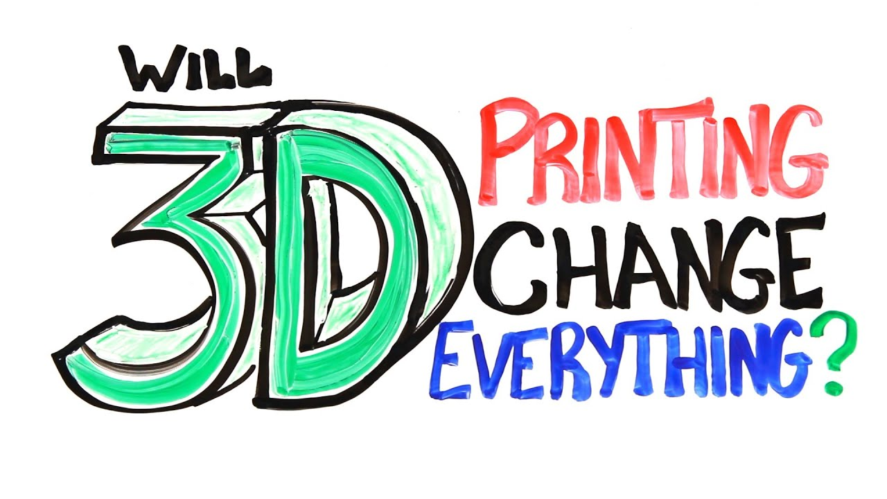 Will 3D Printing Change Everything?