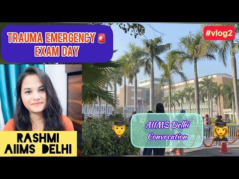 Trauma Emergency Assessment Day, #vlog2 , RASHMI, AIIMS Delhi