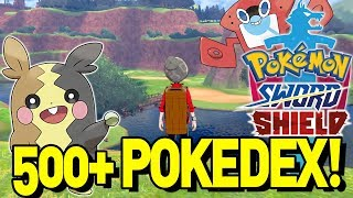 500+ POKEMON in POKEMON SWORD and SHIELD! 🤔 Pokedex Discussion and More! by aDrive