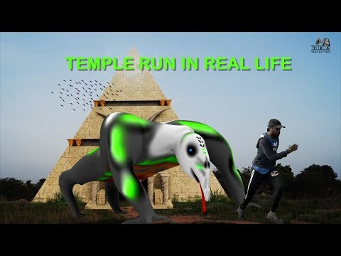 Temple Run In Real Life||Temple Run Blazing Sands- In Real Life