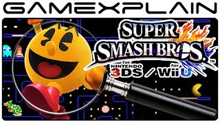 Super Smash Bros Analysis – Pac-Man Reveal Trailer (Secrets & Hidden Details – Wii U & 3DS)