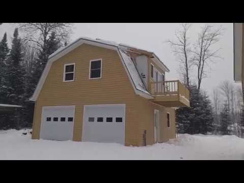 Build a Garage Gambrel Colonial