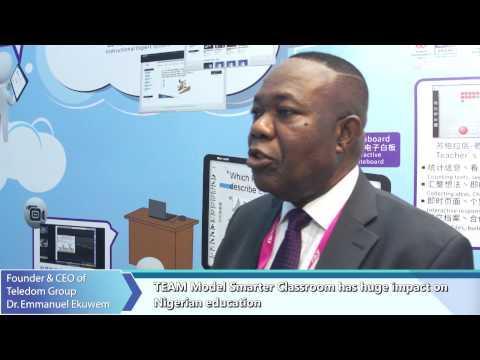 2015 COMPUTEX Dr. Emmanuel Ekuwem of Teledom Group