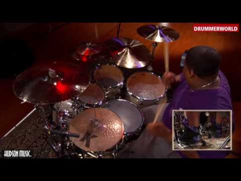 Aaron Spears  Drum Clinic: A Great Short Drum Fill