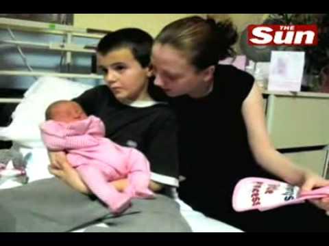 Internacional | Un niño británico fue papá con sólo 13 años