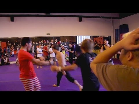 tricking - JAM 7 on 7 Pro Martial Arts Tricking Battle- Michael Guthrie, Vellu, Andy Le, Kyle Cordova, Moe Alafrangy, Nelson Zuniga, Pat Chu Vs Matt Emig, Jeremy Marin...