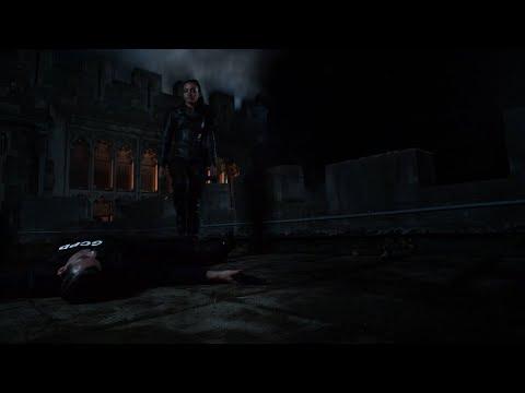 Tabitha Murders GCPD Cop Martinez - Heel Through His Throat (Gotham TV Series)
