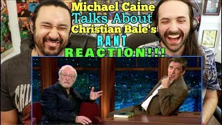 Michael Caine Talks About CHRISTIAN BALE'S RANT With Craig Ferguson - REACTION!!! by The Reel Rejects