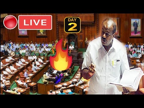 Karnataka Assembly LIVE : 2nd Day CM HD Kumaraswamy Floor Test 2019 | BS Yeddyurappa | YOYOTVKannada