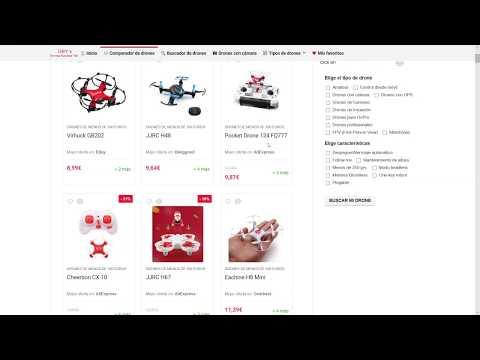 comparador de drones