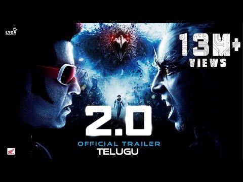 2.0 - Official Trailer [Telugu]   Rajinikanth   Akshay Kumar   A R Rahman   Shankar   Subaskaran