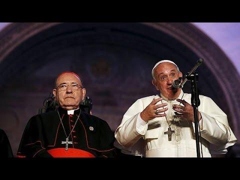 Ισημερινός: Ένα εκατομμύριο πιστοί υποδέχθηκαν τον Πάπα Φραγκίσκο