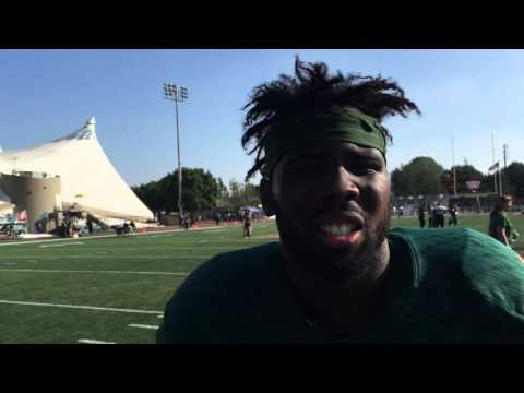 POSTGAME: Carvonte Hill (Oct. 17, 2015)